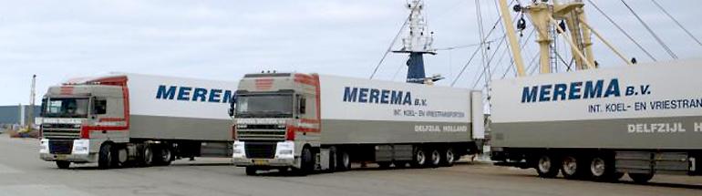 Specialist in vis transport vanaf diverse zeehavens.
